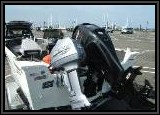 The 60HP FOUR STROKE does a super job moving this boat around. Smooth and very quiet engine.